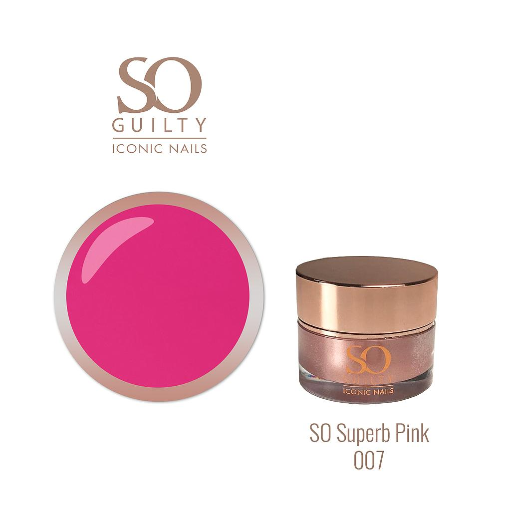 SO Superb Pink 007  Creon On Nails